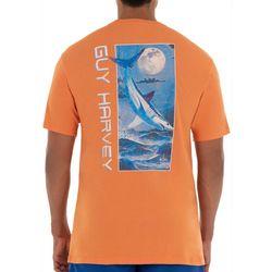 Guy Harvey Mens Mako Night Short Sleeve T-Shirt