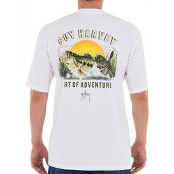 Guy Harvey Mens Fresh Water Bass T-Shirt