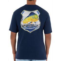 Guy Harvey Mens Mahi Patrol Short Sleeve T-Shirt