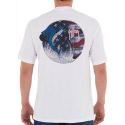 Guy Harvey Mens Stars & Sail Short Sleeve T-Shirt