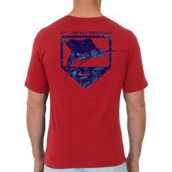 Guy Harvey Mens Water Shield Short Sleeve T-Shirt
