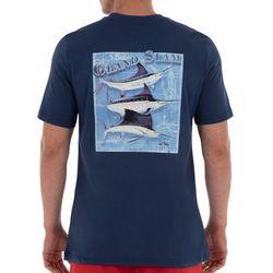 Guy Harvey Mens Billfish Grand Slam Solid T-Shirt