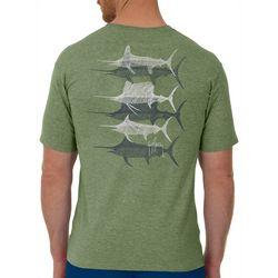 Guy Harvey Mens Scribble Bills Short Sleeve T-Shirt