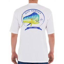 Guy Harvey Mens Core Mahi Short Sleeve T-Shirt