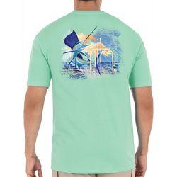 Guy Harvey Mens Black Jack Short Sleeve T-Shirt