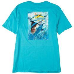 Guy Harvey Mens The Hunt Short Sleeve T-Shirt