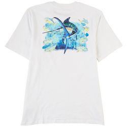 Guy Harvey Mens Black Jack Short Sleeve Pocketed T-Shirt