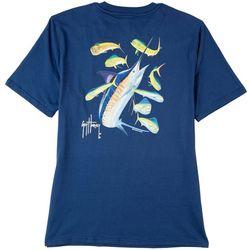 Guy Harvey Mens Marlin Dorado Solid T-Shirt