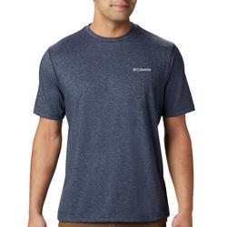 Mens Solid Crew T-Shirt