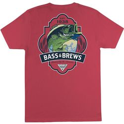 Columbia Mens PFG Bass and Brews T-Shirt