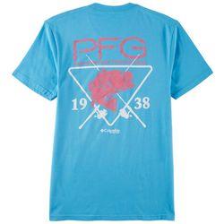Columbia Mens PFG Riptide Graphic Short Sleeve T-Shirt