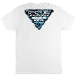 Columbia Mens PFG Reflect Solid Graphic T-Shirt