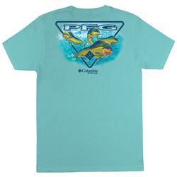 Columbia Mens PFG Alexander Solid Graphic T-Shirt
