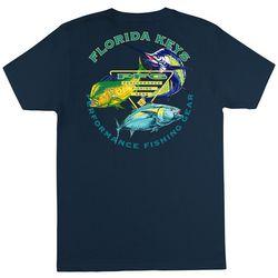 Columbia Mens PFG Buress Solid Graphic T-Shirt