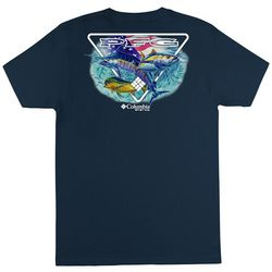 Columbia Mens PFG Luther Solid Graphic T-Shirt