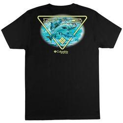 Columbia Mens PFG Rhys Solid Graphic T-Shirt