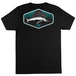 Mens PFG Sail Solid Graphic T-Shirt
