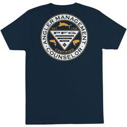 Columbia Mens Angler Management Counselor T-Shirt