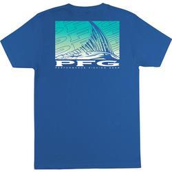 Mens PFG Jiffy Fin Graphic T-Shirt