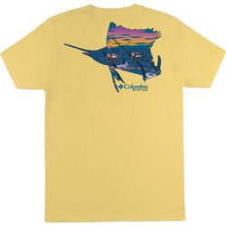 Columbia Mens PFG Haberdash Short Sleeve T-Shirt