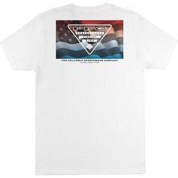 Columbia Mens PFG Columbia American Patriot T-Shirt