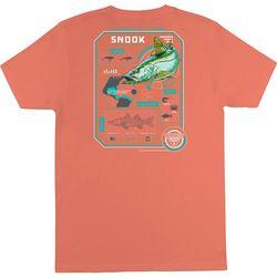Columbia Mens PFG Elements Of Fishing Snook T-Shirt