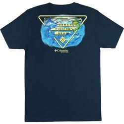 Columbia Mens PFG Columbia Tesler T-Shirt