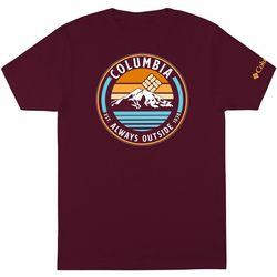 Columbia Mens Always Outside Short Sleeve T-Shirt