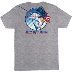 Columbia Mens Americana Sailfish Short Sleeve T-Shirt