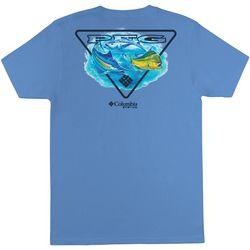 Columbia Mens PFG BOPP Fishing Short Sleeve T-Shirt