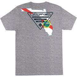 Columbia Mens PFG Sprightly Heathered Short Sleeve T-Shirt