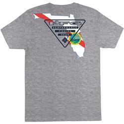Mens PFG Sprightly Heathered Short Sleeve T-Shirt