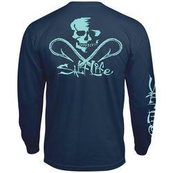 Salt Life High Seas Skull & Hook Long Sleeve T-Shirt