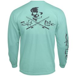 Salt Life High Seas Skull & Pole Long Sleeve T-Shirt
