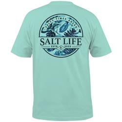 Mens Paradise Seas Graphic T-Shirt
