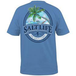 Salt Life Mens Hammock Time Short Sleeve T-Shirt
