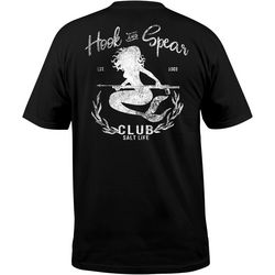 Salt Life Mens Hook & Spear Club Graphic T-Shirt