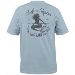 Salt Life Mens Hook & Spear Mermaid Short Sleeve T-Shirt
