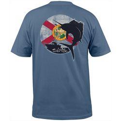 Salt Life Mens Florida Dawn Short Sleeve T-Shirt