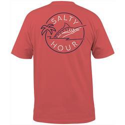 Mens Salty Hour Short Sleeve T-Shirt