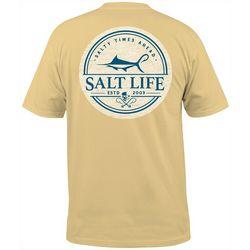 Salt Life Mens Forecast Short Sleeve T-Shirt