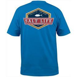 Mens Lock Down Short Sleeve T-Shirt