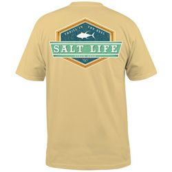 Salt Life Men's Lock Down Short Sleeve T-Shirt