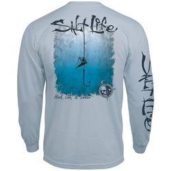 Salt Life Mens Hook, Line & Sinker Long Sleeve T-Shirt