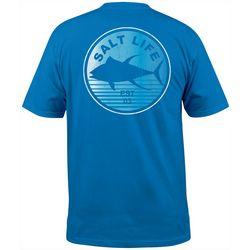Salt Life Mens Tuna Gradient Pocket T-Shirt
