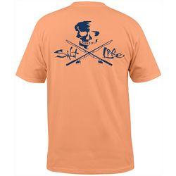 Salt Life Mens Skulls & Poles T-Shirt