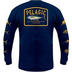 PELAGIC Mens Gamefish Tuna Long Sleeve Shirt