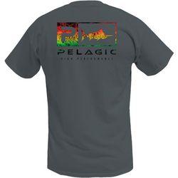 PELAGIC Mens Deluxe Icon Rasta Premium T-Shirt
