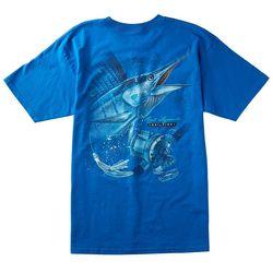 Reel Legends Mens Sailfish T-Shirt
