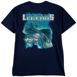 Reel Legends Mens Southern Stingray Graphic T-Shirt
